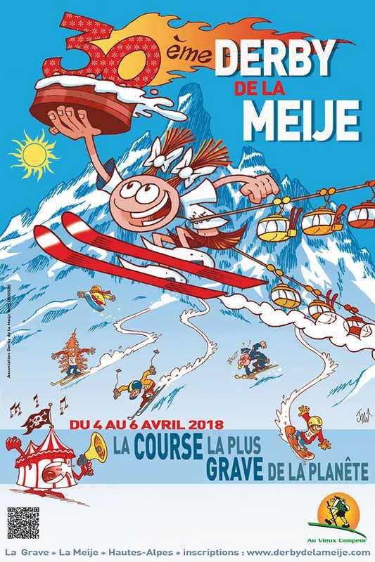 """Résultat de recherche d'images pour """"affiche derby de la meije"""""""